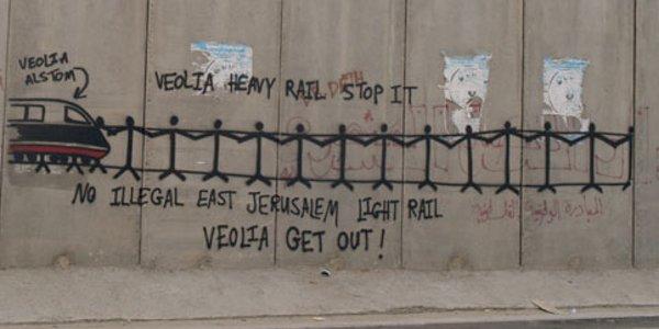 Alstom y Veolia implicadas en la construcción del ferrocarril en Jerusalén Este.