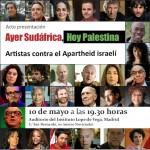 <!--:es-->Artistas e intelectuales participan en Madrid en un concierto de denuncia del Apartheid israelí<!--:--><!--:ca-->Artistas e intelectuales participan en Madrid en un concierto de denuncia del Apartheid israelí<!--:--><!--:eu-->Artistas e intelectuales participan en Madrid en un concierto de denuncia del Apartheid israelí<!--:-->