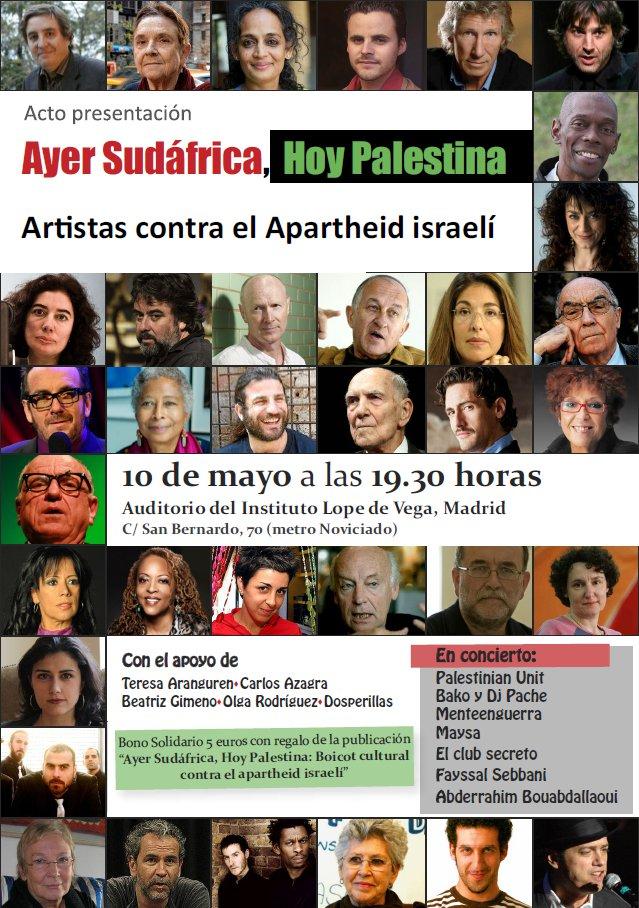 """Presentación """"Ayer Sudáfrica, hoy Palestina"""""""