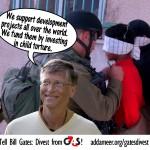 Pide a Bill Gates que retire su capital de G4S, por los y las presas políticas palestinas