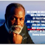 Grace Lee Boggs y Danny Glover se oponen a la proyección de una película en Tel Aviv