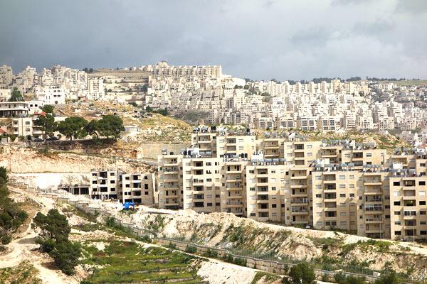 Colonia israelí Har Homa en Jerusalén Este – RIBA dice que IAUA es cómplice del