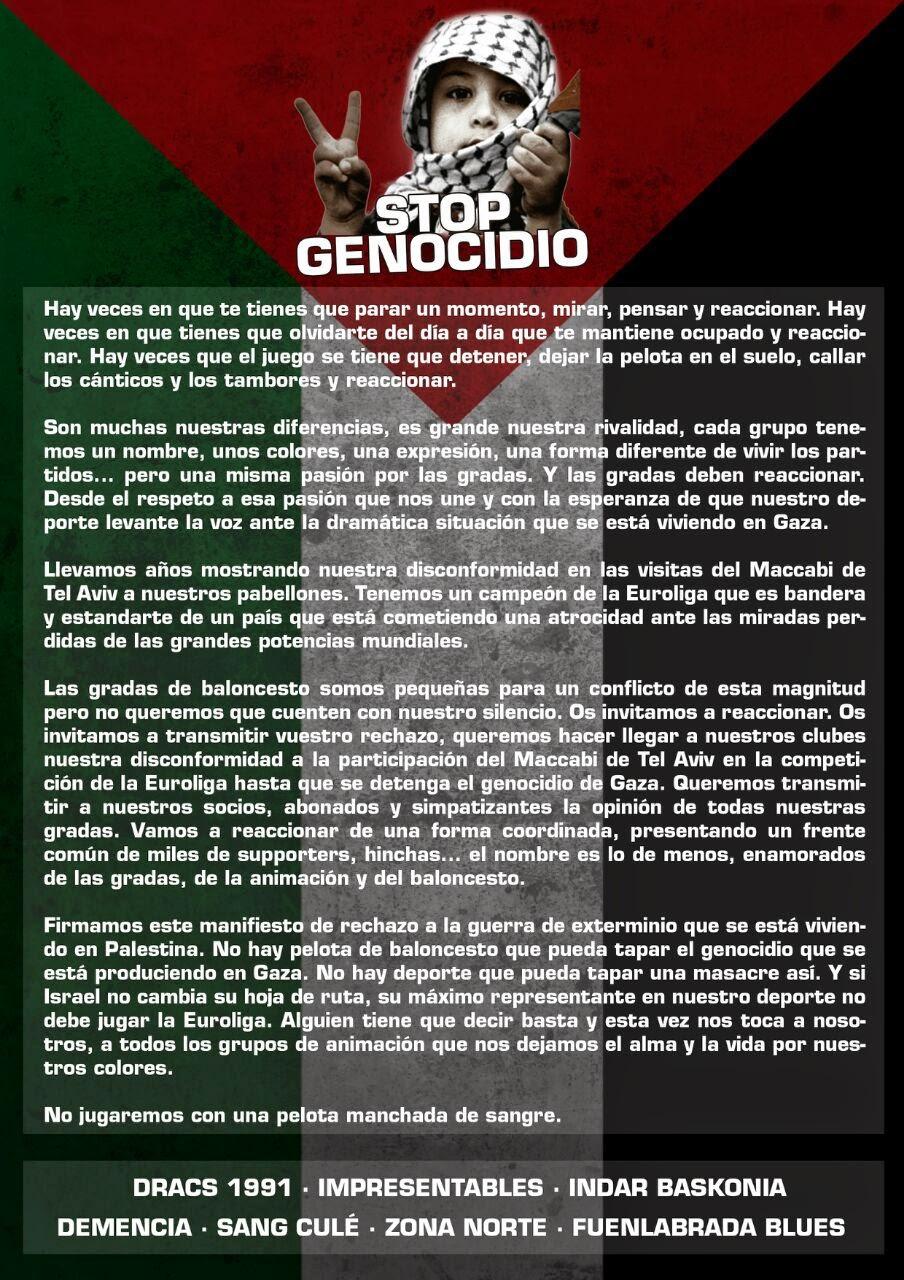 Stop Genocidio
