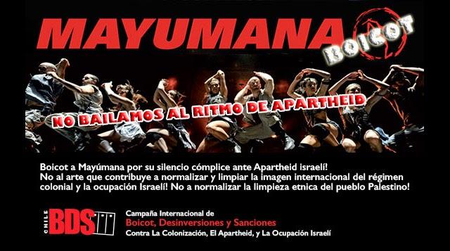 Mayumana BDS Chile