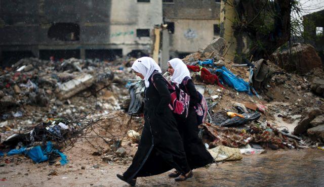 Niñas palestinas Gaza