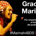 <!--:es-->Marinah, primera cantante del Estado español en cancelar conciertos en Israel<!--:-->