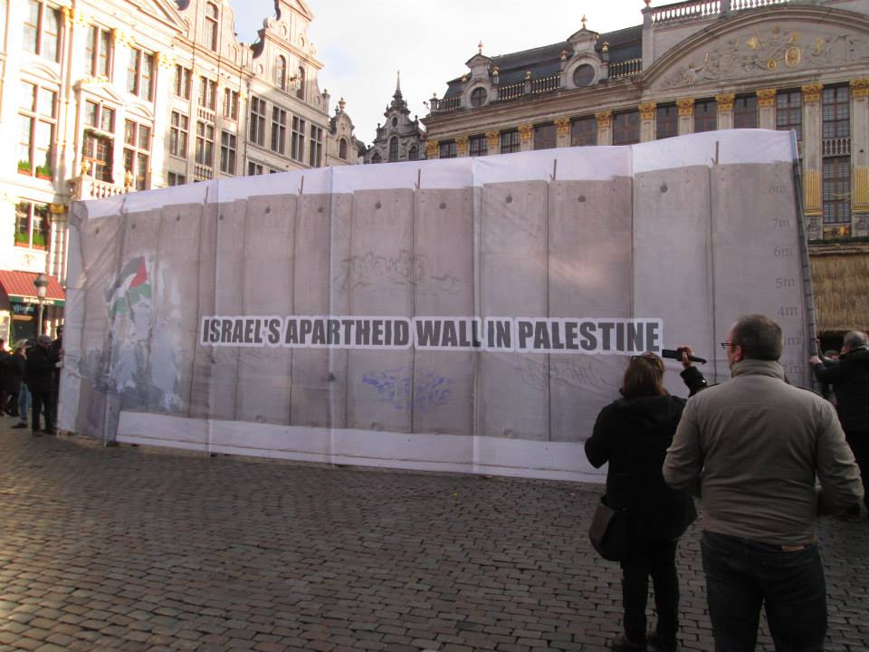 Muro Apartheid Bruselas