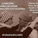 [:es]Cambio de lugar de la Concentración de solidaridad con el pueblo palestino: viernes 23 de Octubre 19h en la Plaza de la Villa (Metro Sol Y Ópera)[:]