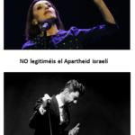[:es]La RESCOP pide a Miguel Poveda y Luz Casal que no legitimen el Apartheid israelí[:]