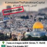 [:es]Declaración contra la decisión de Trump de trasladar su embajada a Jerusalén[:]