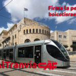 Pídele a CAF que se retire del proyecto de construcción del tranvía de Jerusalén